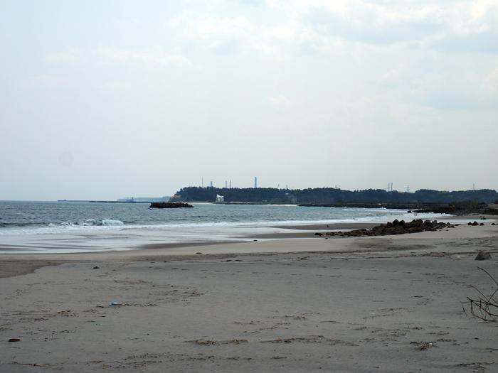 請戸の海岸