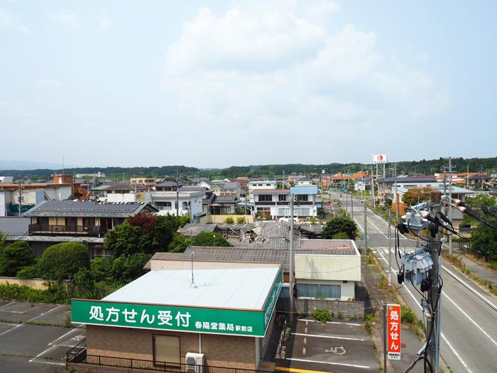 浪江町一望